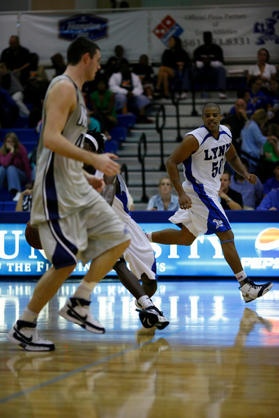 Lynn University Mens Basketball vs Nova -  (631)