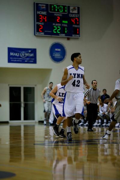 Lynn University Mens Basketball vs Nova -  (479)