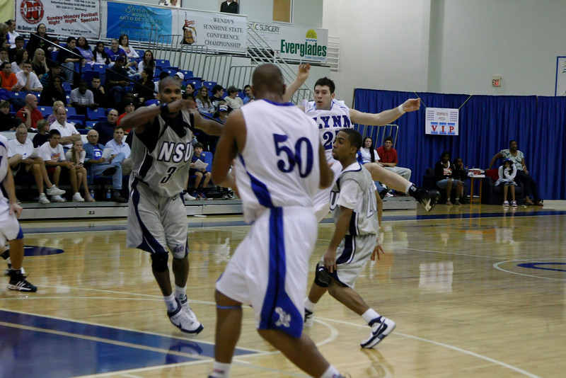 Lynn University Mens Basketball vs Nova -  (558)