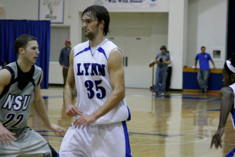 Lynn University Mens Basketball vs Nova -  (585)