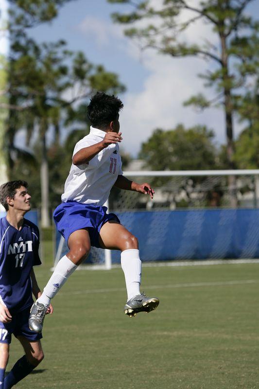 Lynn Univ Soccer vs New York Tech 1127