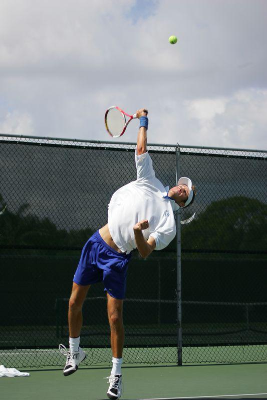 2 LYNN Tennis Mens NCAA 2005 Regional Final - 1236