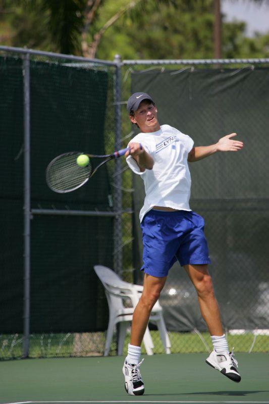 5 LYNN Tennis Mens NCAA 2005 Regional Final - 1283