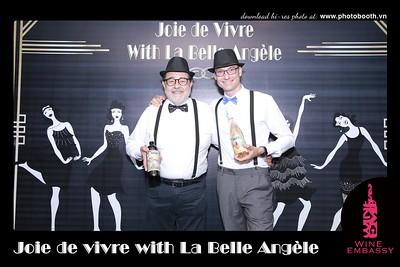 La Belle Angèle + Wine Embassy party @ Sofitel Saigon - instant print photo booth - Chụp hình in ảnh lấy liền sự kiện