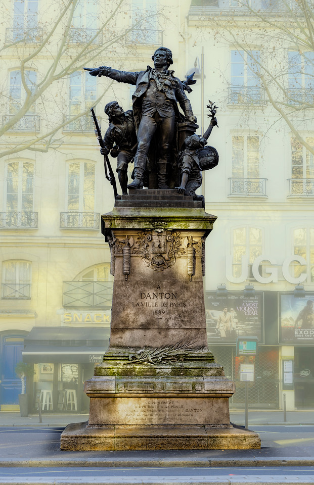 Georges Danton a leading figure in the early stages of the French Revolution and the first President of the Committee of Public Safety, his death in 1794 came near the end of the Reign of Terror..