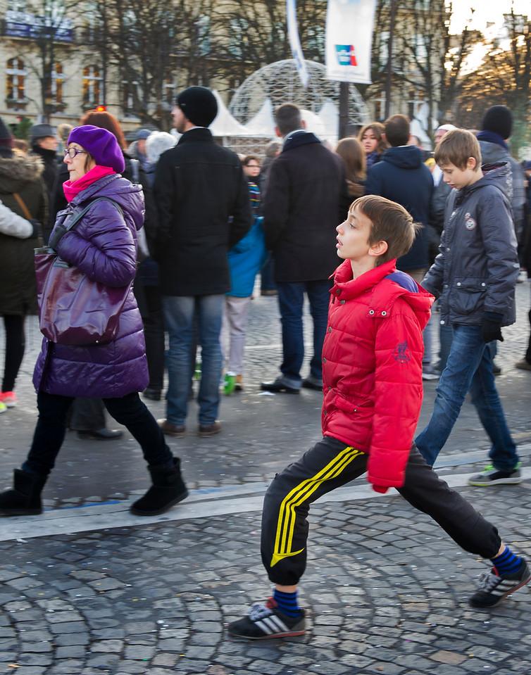Christmas Market, Paris, France