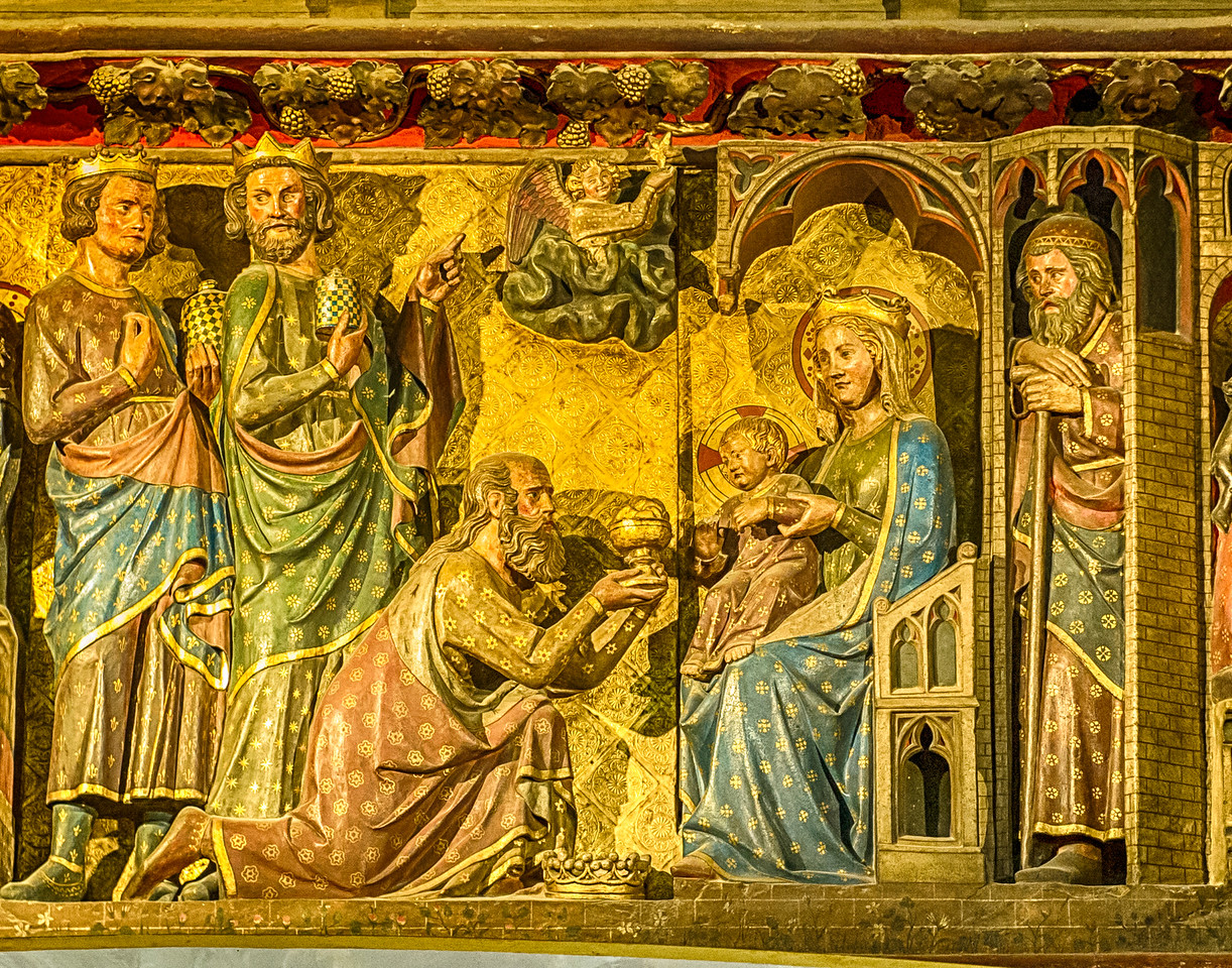 Adoration of the Magi, Notre Dame, Paris