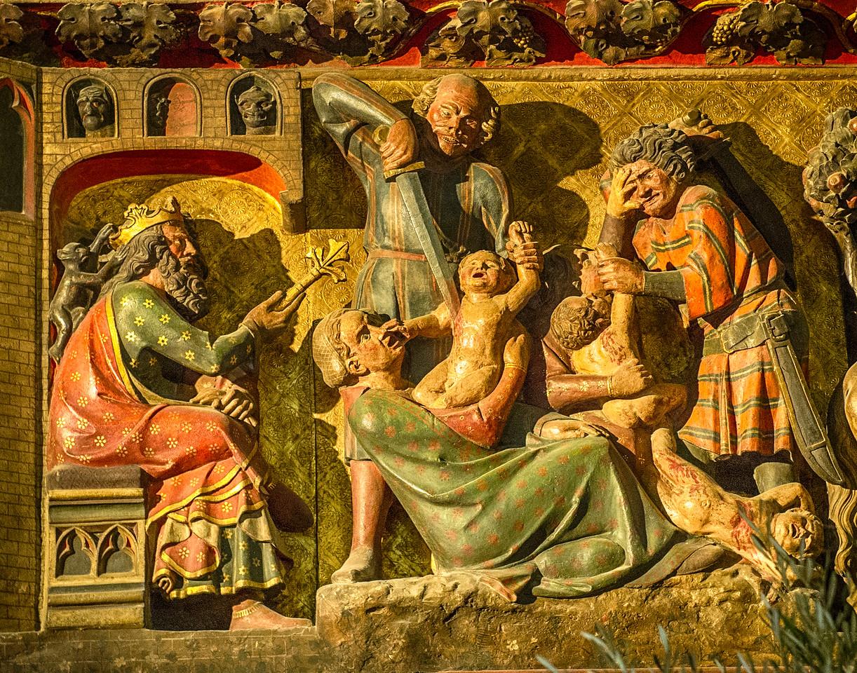 Massacre of the Innocents, Notre Dame, Paris