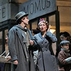 Tenor Harold Meers is Rodolfo and soprano Alyson Cambridge is Mimi in San Diego Opera's LA BOHEME (January/February 2015). Photo by Ken Howard, 2015.