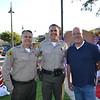 Lt. David Holwager, Capt. Todd Deeds and Deputy Eric Matejka