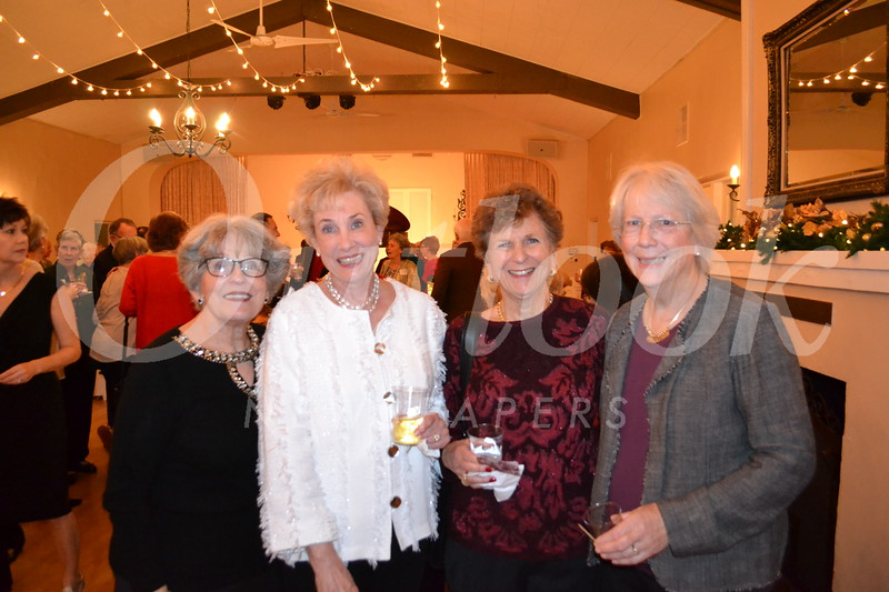 Nancy Gunther, Margot Simpson, Toni Bird and Sue Sheedy