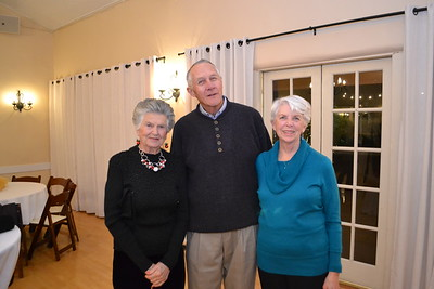Sue Beatty with Jim and Mary Mieding