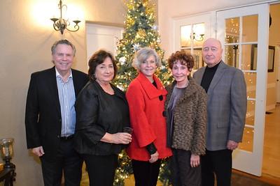 David Morton, Esther Sneed, Sheri Morton, Barbara Marshall and Terry Sneed