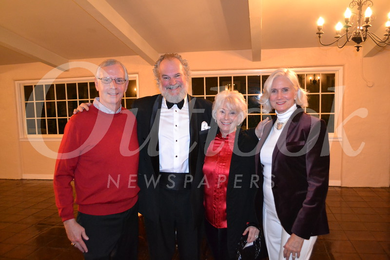 Gordon Crawford, Johnny Palmer, Dona Crawford and Nancy Asher