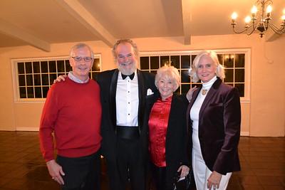 Gordon Crawford, Johnny Palmer, Dona Crawford and Nancy Asher