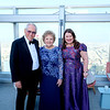 Lifetime Legacy Honorees Sam and Grace Carvajal with Dr  Annette Ermshar