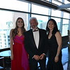 Event co-chairs Amanda Dundee and Dr. Harlan Gibbs with honoree Dr. Sara Kim.