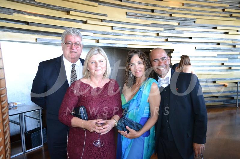 John and Alison Tyson with Jolene and Nick Martinez