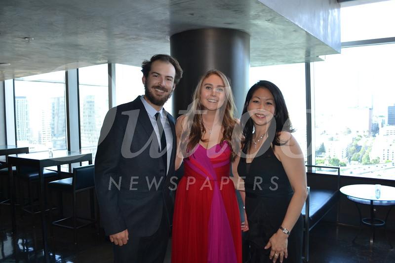 Kyle Hughes, Amanda Dundee and Dr. Sara Kim