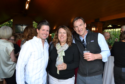 Joseph Langton with Linda and Royce Hudson