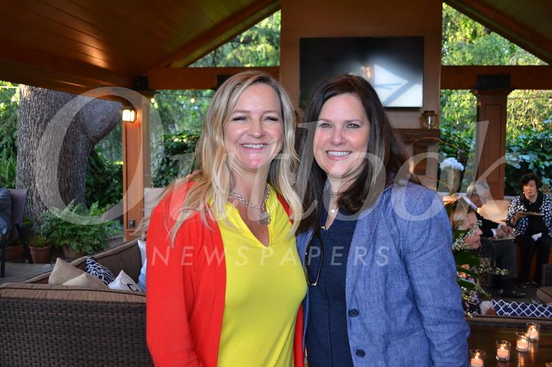 Pam Heiberg and Kathy St. Hippolyte