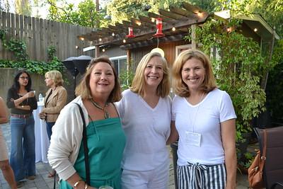 Cathy Steward, Jane Owen and Jill Chapman