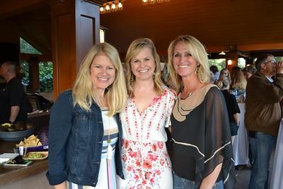 Karen Clark, Jennifer Gordon and Teresa Butier