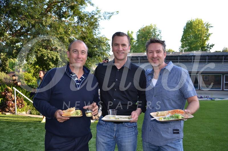 John Clark, Mitch Butier and Steve Cook