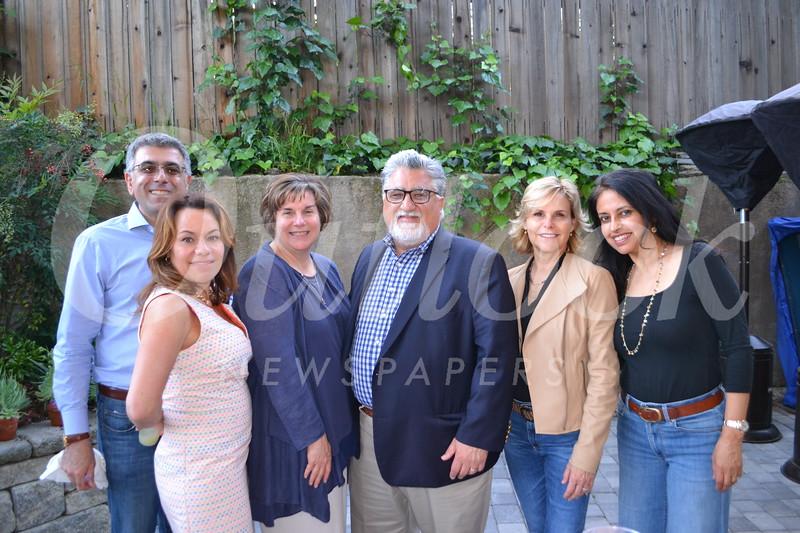 Jacob and Tamar Tujian, Ellen and Sen. Anthony Portantino, and Alex DeFaria and Renu Samudrala