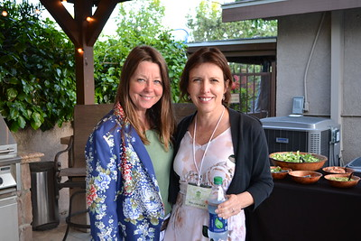 Kelly McWilliams and Jackie Schaedel