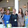 Jennifer Ferry, Lydia Valenta, Joy Asbury, Vanetta Barton and Kristie Baker
