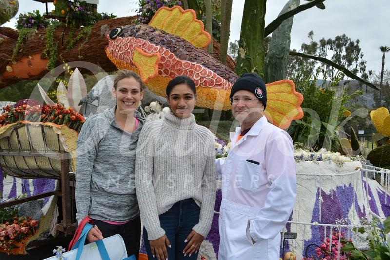 Tiffany Petroc, Princess Rucha Kadam and Charles Thuss
