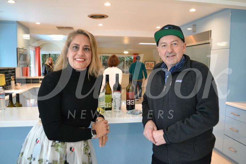 Kathy and Bruce Seuylemezian