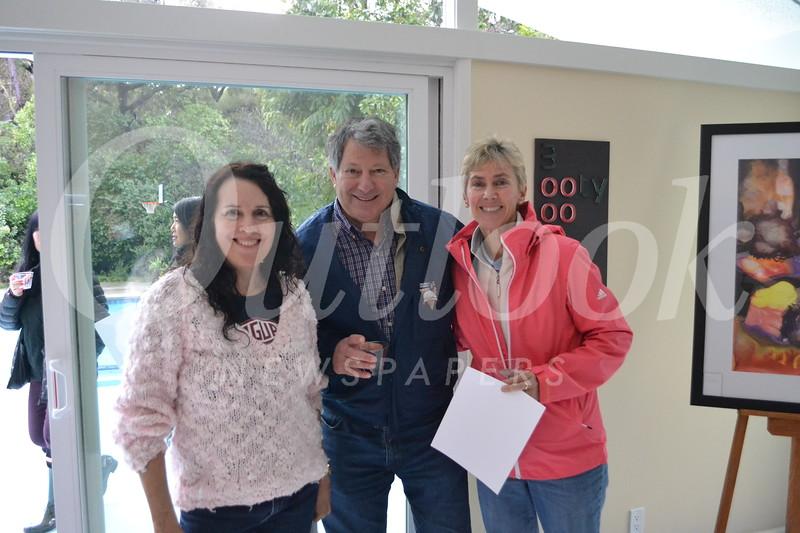 Gail Brewer with Bob and Nancy Antonoplis