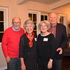 Carl and Irene Christensen with Nancy and Jack Gunther
