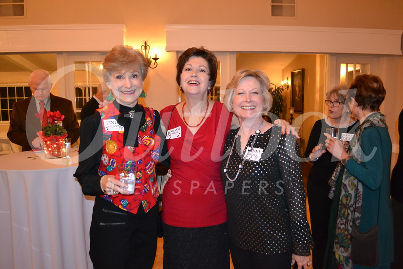 Linda Deacon, Marianne Freeze and Ginny Kelley