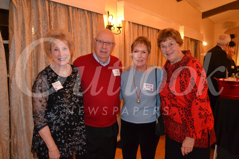 Margot and Ed Simpson, Diane Karsh and Molly Brockmeyer