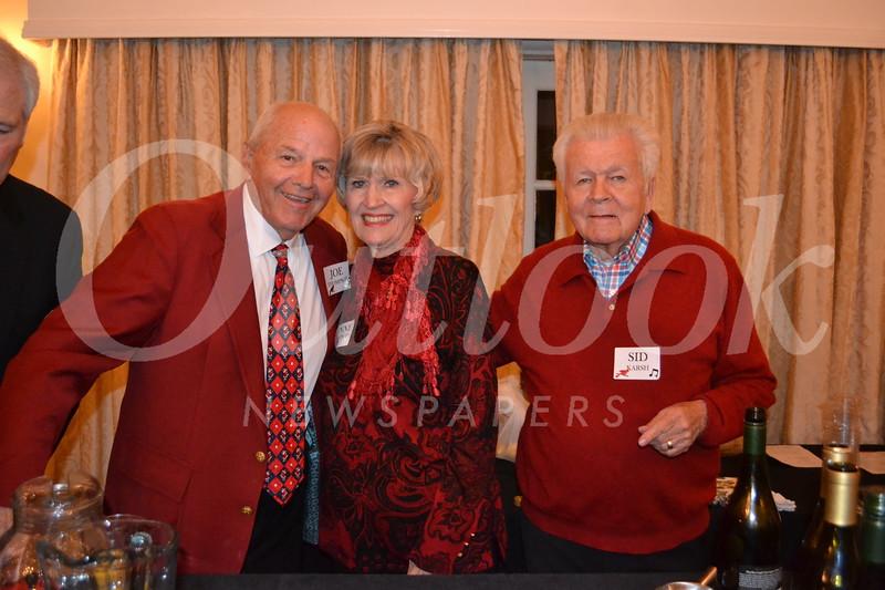 Joe and Lynne Thompson with Sid Karsh