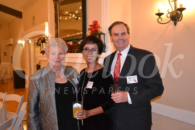 Sue Franzen with Joann and Kevin Murphy