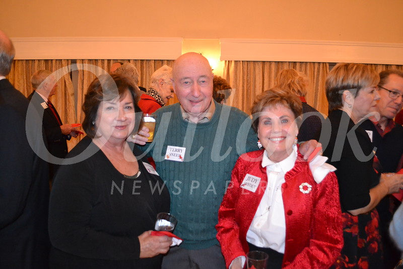 Esther and Terry Snell with Judy Snyder