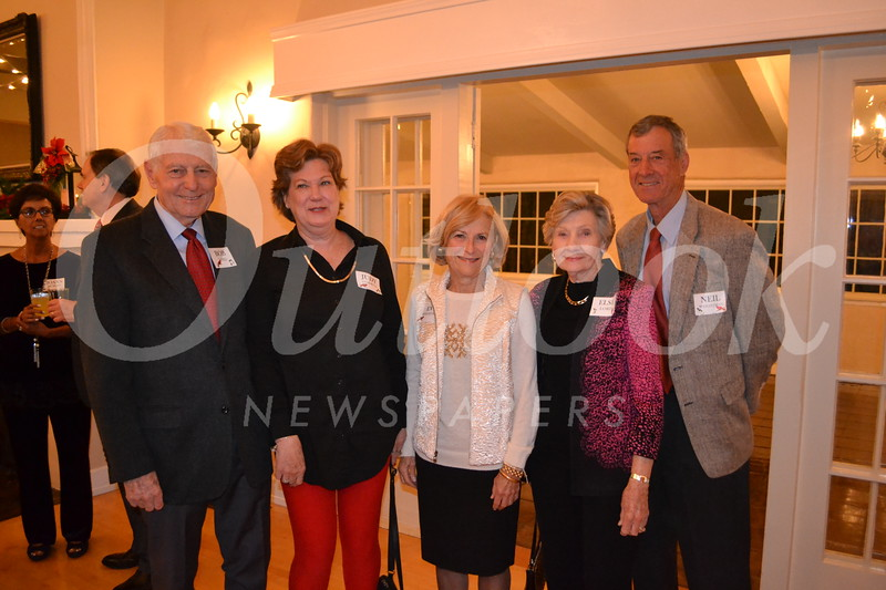 Bob Lord, Judy Cosgrove, Eve Weightman, Else Lord and Neil Weightman