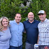 Vanessa and Mike Sanders with Matt and Mike Chiarella