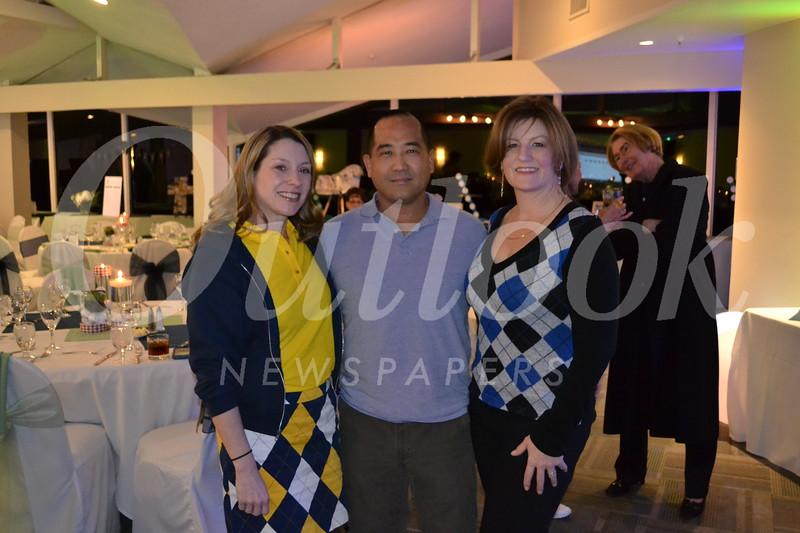 Jennifer Zinn with Mark and Holly Inaba