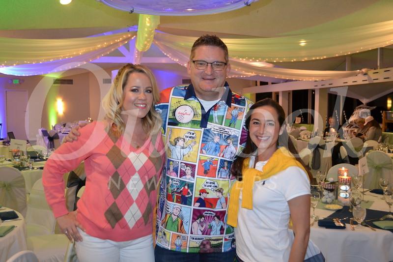 Kelly and Brett Abbey with Jennifer Tahmoush