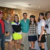 Tom Onderdonk, Molly Girardi, Katie and Robert Cowan, Caitlin Upton, Amy Onderdonk and Mike Upton