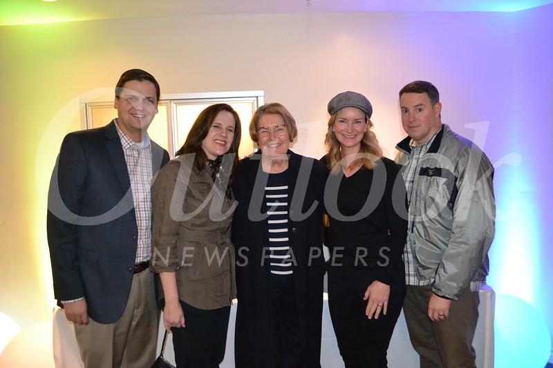 Jeff and Shana Hanna, Barb Kuhl, Shannon Sullivan and David Wanless