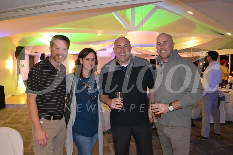 Jed and Kristin Chestnut with Matt and Michael Chiarella