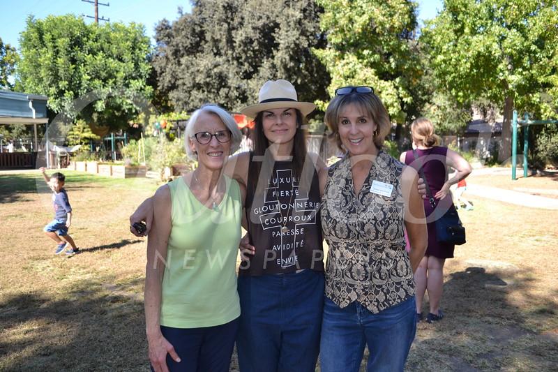 Ellen Veselack, Amy Higgins and Sheryl McPhee