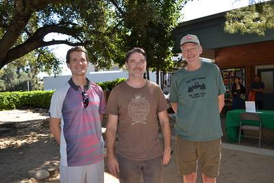 Havard Grip, Matthew Watts and Kyle Riddle