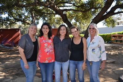 Lauren Kaye, Nicole Witek, Ashley Tearston, Megan Angarita and Elyssa Nelson